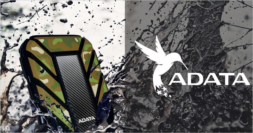Обзор ADATA DashDrive Durable HD710 1TB. Внешний диск с защитой от падения и влаги.