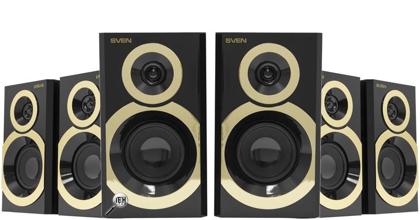 SVEN SPS-619 Gold – «золотая» акустика