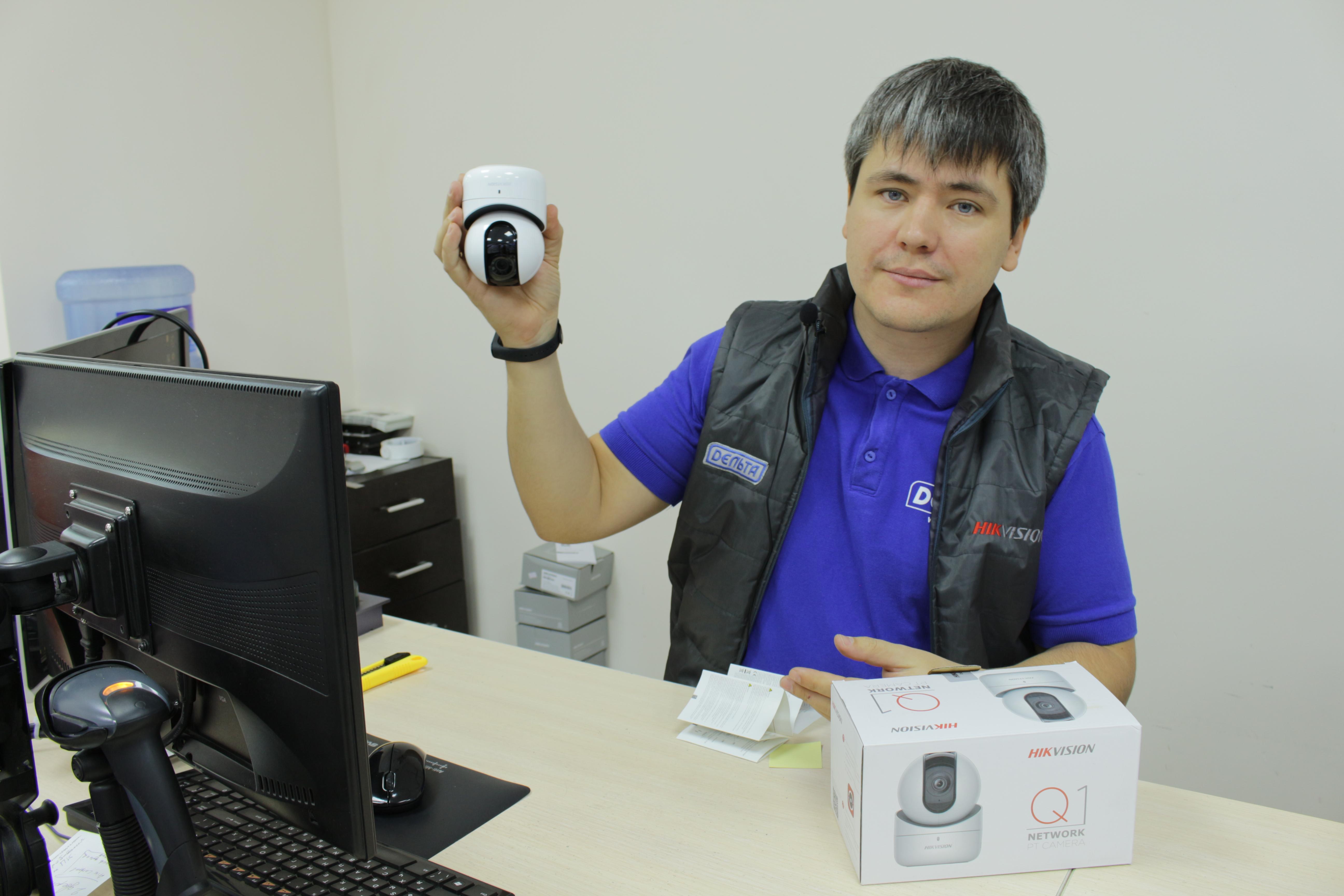 Простая Wi-Fi камера в установке с большим функционалом!