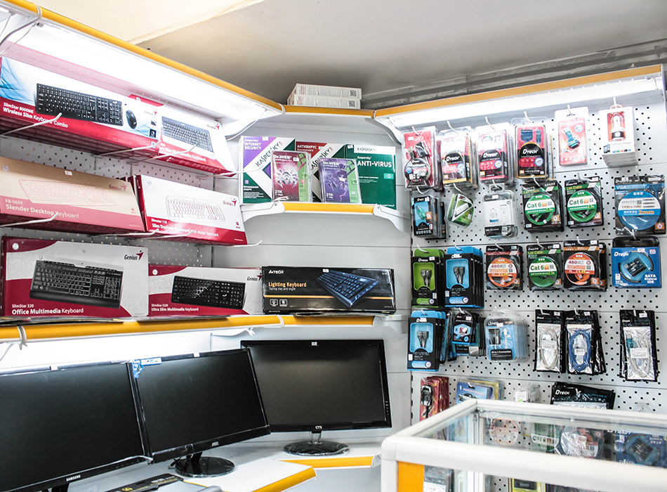 Компьютерные магазины в оше